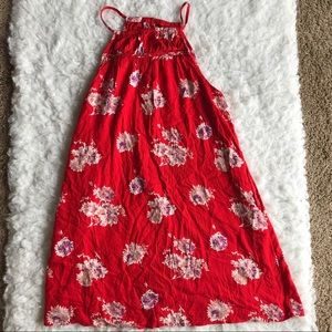 Lucky Brand floral summer dress, size Large